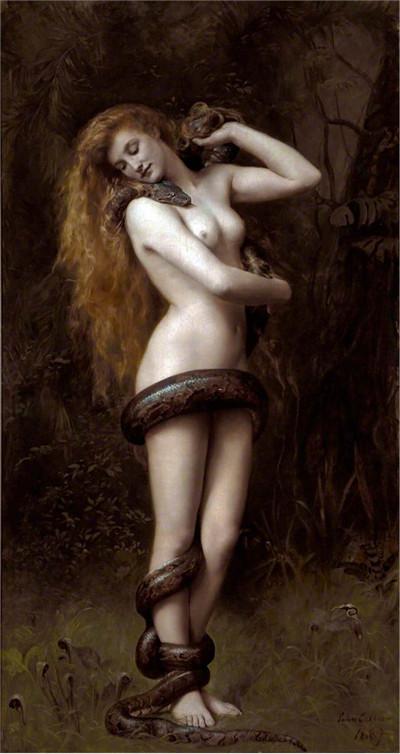 Lilith (John Collier painting) - Лилит